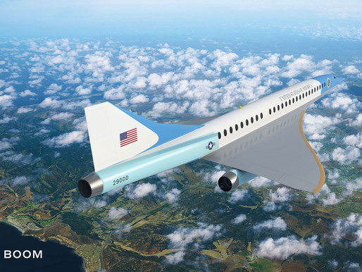 Boom Supersonic Teams With U.S. Air Force to Explore Government Executive Flight Program