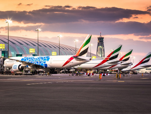 Emirates Expands July Schedule to 52 Destinations, Adds Service to Cairo, Tunis, Glasgow and Malé