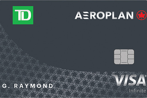 Rewards Canada Names TD Aeroplan Visa Infinite Card the 'Best Airline Credit Card'