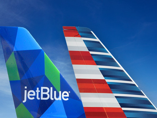 American Airlines and JetBlue Northeast Alliance Offers Over 700 Daily Flights From NYC and Boston