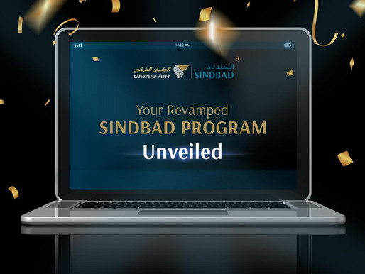 Oman Air Launches Revamped Sinbad Loyalty Program With Simplified Spend-Based Mileage Accrual