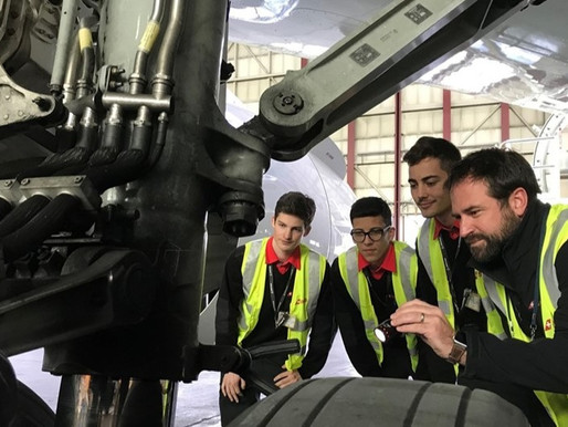 SWISS Launches Engineering Training Collaboration With Beruffschule Bülach