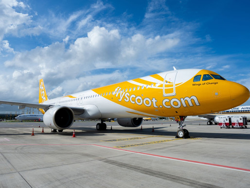 Scoot Receives First Three of Four Airbus A321neos on Lease From BOC Aviation