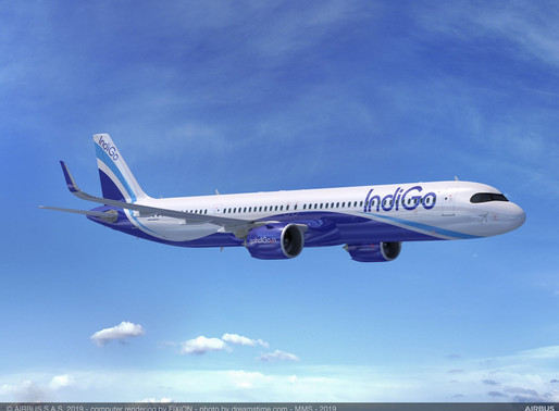 India's IndiGo Places Firm Order for 300 Airbus A320neo Family Aircraft