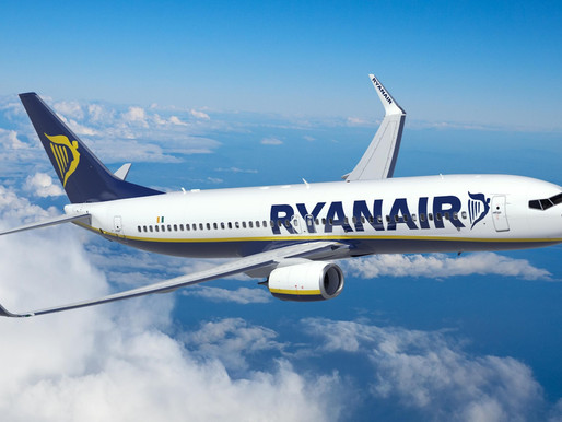 Ryanair Adds 14 Extra Weekly Flights Between 12 UK Airports and Faro, Portugal