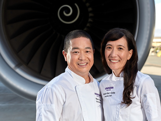 Hawaiian Airlines Announces First Executive Chef Team, New Onboard Featured Chefs