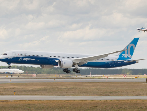 Boeing to Consolidate 787 Production in North Charleston, South Carolina From Mid-2021