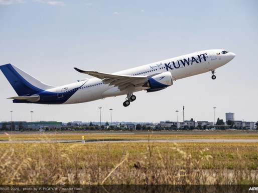 Kuwait Airways Takes Delivery of First Two of Eight Airbus A330neos on Order