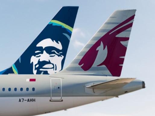 Alaska Airlines and Qatar Airways Launch New Codeshare Agreement