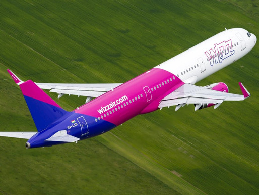Wizz Air Announces New Sarajevo Base With One Aircraft and Nine New Routes for 2021