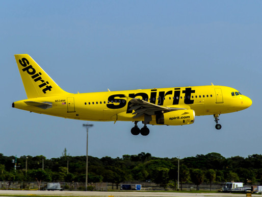 Spirit Airlines to Launch Flights Between Kansas City and Four Florida Destinations From June 2021