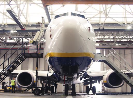 Ryanair's Director of Engineering and Team Keep Fleet in Tip-Top Shape During Lockdown