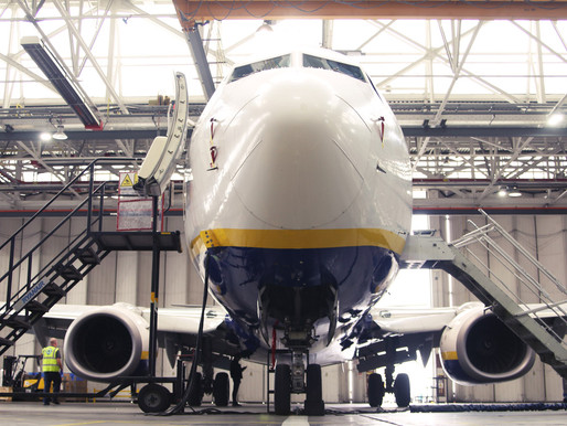 Ryanair's Director of Engineering and Team Keep Fleet in Tip-Top Shape During Lockdown