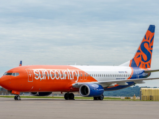 Sun Country Airlines Adds 11 New Nonstop Flights From Minneapolis, Extends Schedule Through 2022