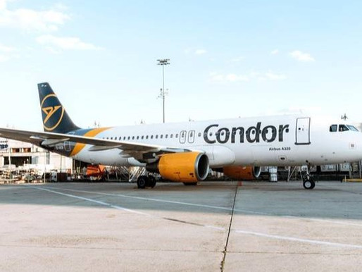 Condor Will Offer Service From Zurich to Most Popular Holiday Destinations for Summer 2021