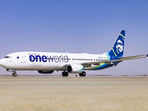 Alaska Airlines is Now Officially a Member of the oneworld Global Alliance