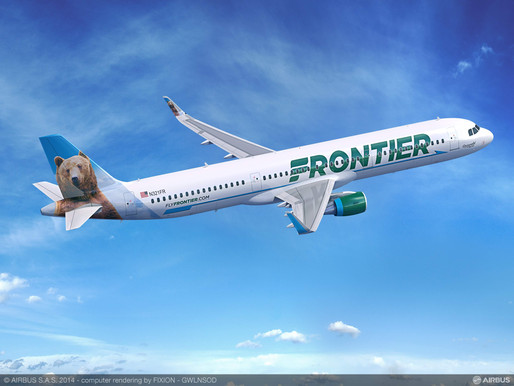 Frontier Airlines Announces 19 Nonstop Routes, New Service to Three Destinations