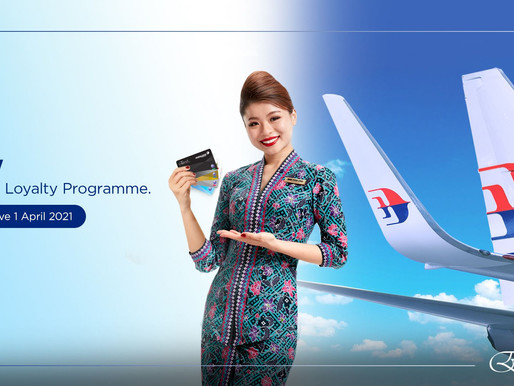 Malaysia Airlines Enrich Loyalty Program Moves to Fare Based Earning and New Tier Qualifications