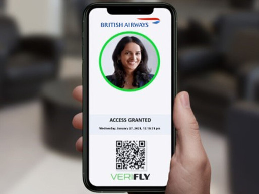 British Airways Becomes First UK Carrier to Test VeriFLY Mobile Health Passport