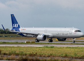 SAS Takes Delivery of First of Three Airbus A321LRs Powered by CFM Leap-1A Engines