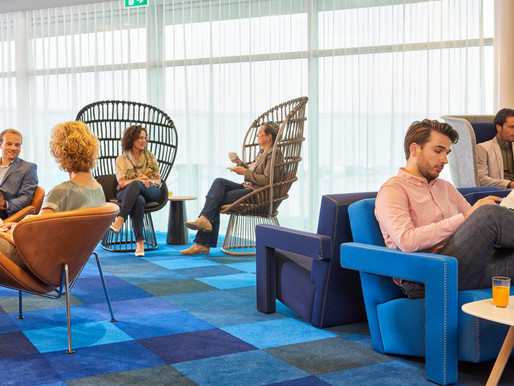 KLM Opens New Amsterdam Schiphol non-Schengen Crown Lounge