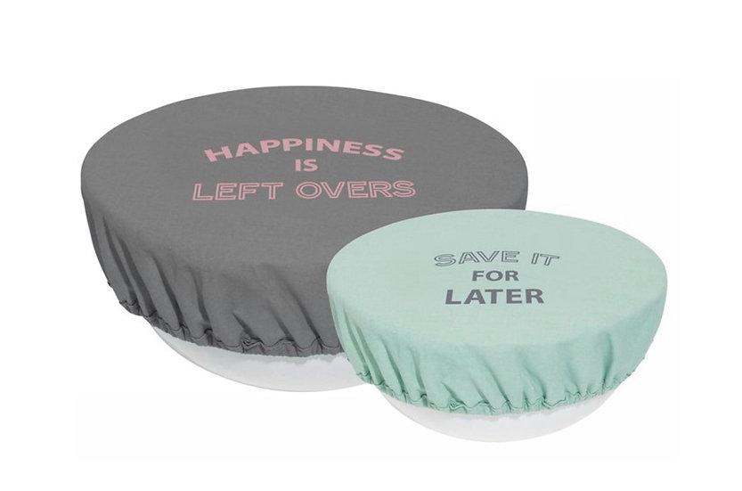 Reusable bowl covers - PASTELS