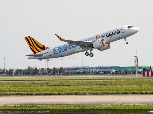 Tigerair Taiwan Takes Delivery of First Pratt & Whitney GTF Powered Airbus A320neo