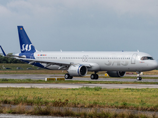 SAS Reaches Financing Agreements for New Aircraft Deliveries