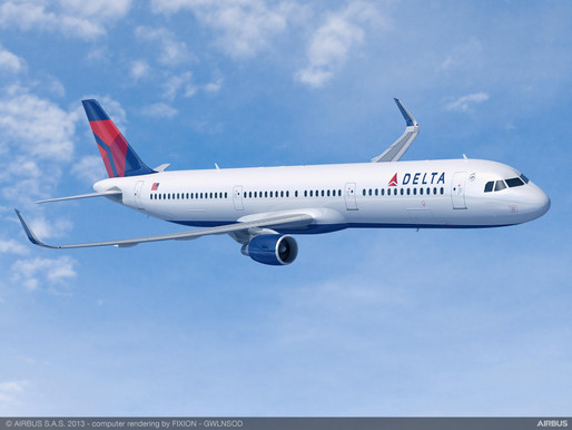 Delta Air Lines Places Firm Order for 25 Additional Airbus A321neos