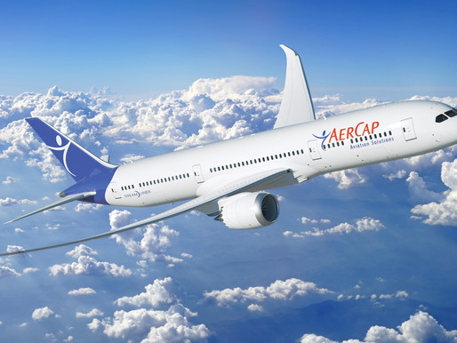 AerCap Signed $8.3 Billion in Financing Transactions and Leased, Purchased and Sold 179 Aircraft in
