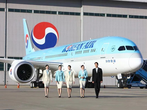 Korean Air Named Air Transport World's 'Airline of the Year' for 2021