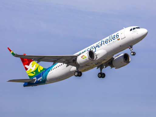 Air Seychelles Launches Limited Winter Schedule With Service to Mauritius, Johannesburg and Tel Aviv