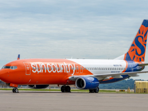 Sun Country Airlines to Launch New Service From Minneapolis-St. Paul to Asheville and Palm Beach