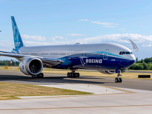 FAA Certifies GE9X Engine Which Will Power Boeing 777X Family Aircraft