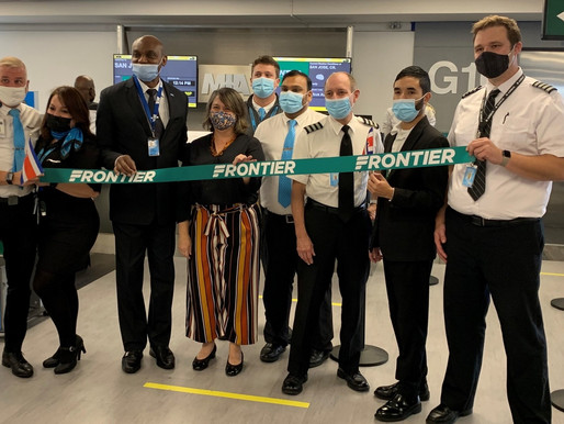 Frontier Airlines Launches New Service Between Miami and San José, Costa Rica