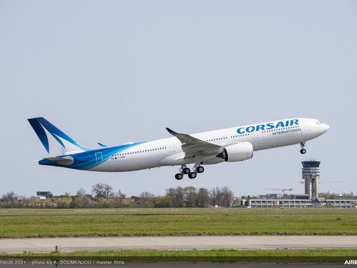 Corsair Takes Delivery of Their First Airbus A330neo