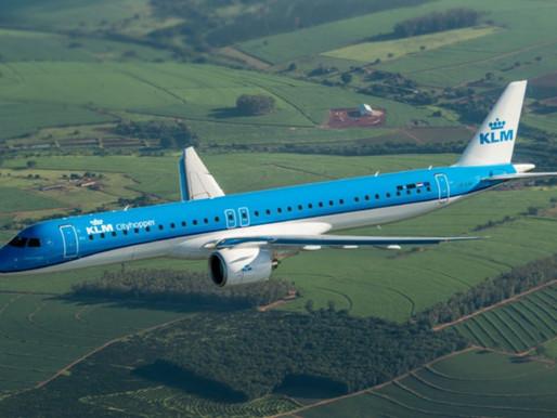 KLM Cityhopper Receives Their First Embraer E195-E2