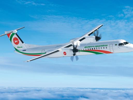De Havilland Aircraft of Canada Delivers DASH 8-400 to Biman Bangladesh Airlines
