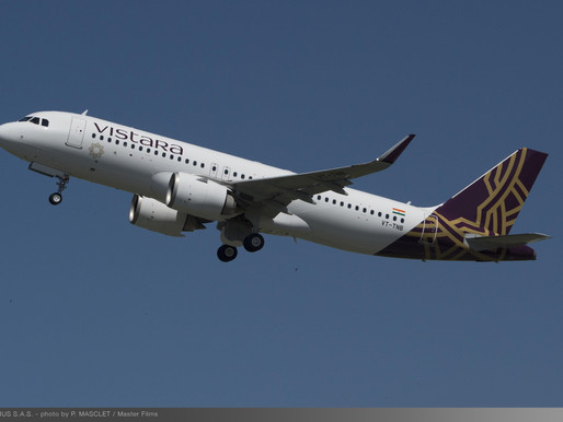 Vistara Launches Daily Service Between Delhi and Sharjah