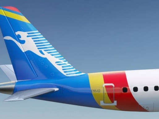 Congo Airways Places Firm Order for Two Embraer E195-E2 Aircraft