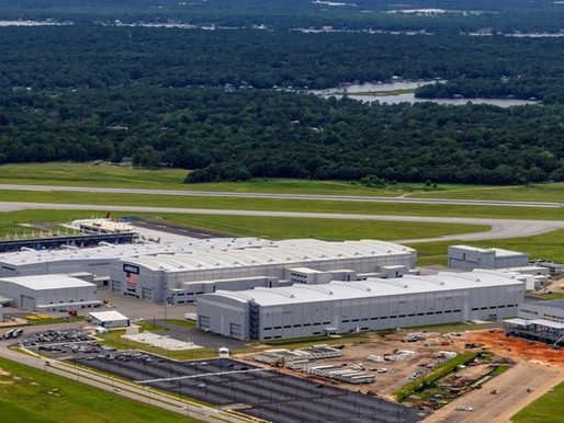 Airbus Celebrates Five Years of Single Aisle Aircraft Production in Mobile, Alabama