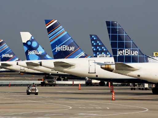 JetBlue Sales in March Drop From $22M Daily to Less Than $4M, Issuing $20M in Credits Daily