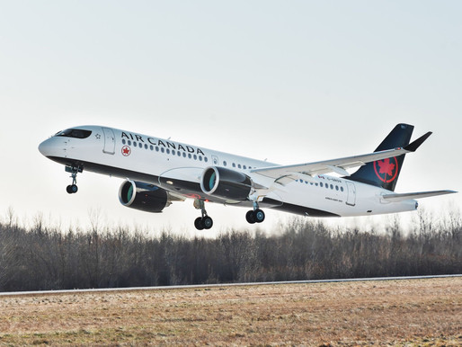 Made in Canada: Air Canada Takes Delivery of First Airbus A220-300