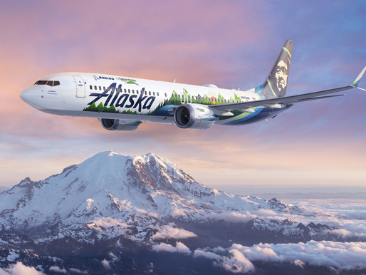 Boeing and Alaska Airlines Partner on 737-9 ecoDemonstrator Program