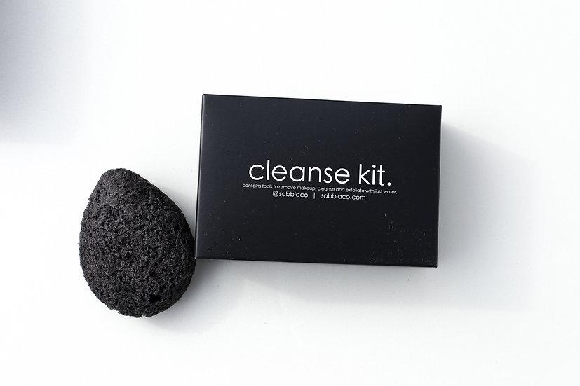 Sabbia Co charcoal cleanse kit