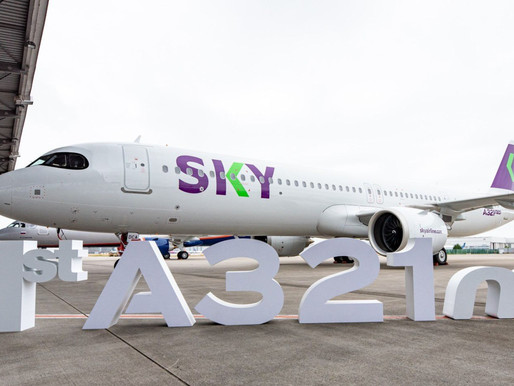 Chile's SKY Takes Delivery of first Airbus A321neo on Lease From Air Lease Corporation