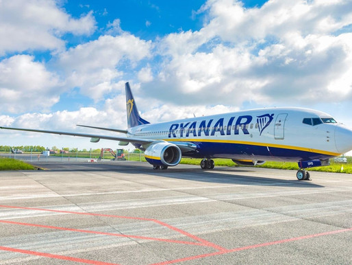 Ryanair to Launch Service From Teesside to Alicante and Mallorca for Summer 2021