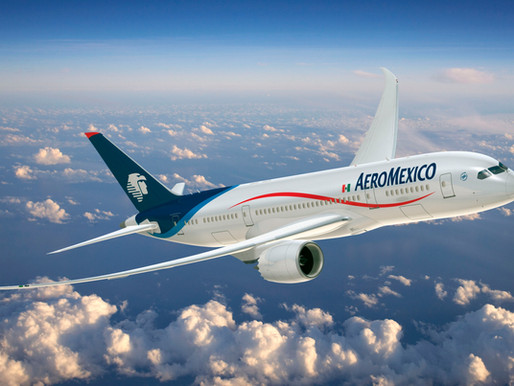 Aeromexico to Operate Nearly 4,000 Domestic Flights in November, 83 Percent of 2019 Capacity