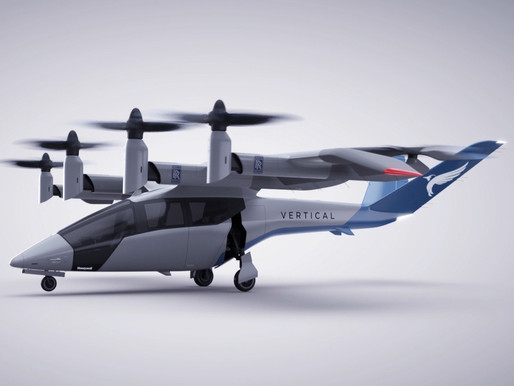 Rolls-Royce to Power Vertical Aerospace's Flagship Electric Urban Air Mobility Aircraft