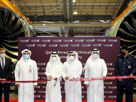 Qatar Airways Opens 9,000 Square Foot State-of-the-Art Engine Facility